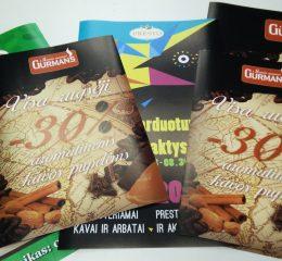 Žurnalai, katalogai, brošiūros