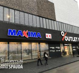 Turinės raidės Maxima