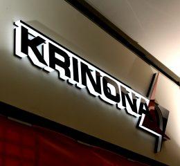 Tūrinės raidės Krinona